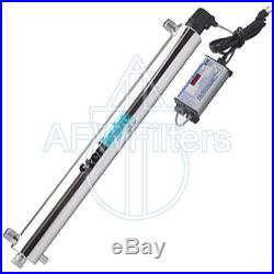 UV Whole House Water Filter S8Q-PA Sterilight 7.7-20 GPM