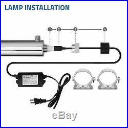 UV Whole House Water Sterilizer Ultraviolet Light 55W 12GPM/45LPM