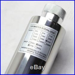 Ultraviolet Light Water Purifier Filtration Whole House UV Sterilizer 12GPM US