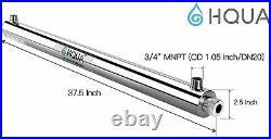 Ultraviolet Light Water Purifier Sterilizer for Whole House HQUA-OWS-12