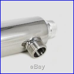 Ultraviolet Light Water Purifier Whole House Sterilizer 12 GPM +2 Extra BulbsHOT