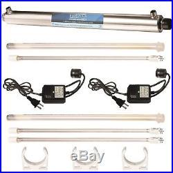 Ultraviolet Light Water Purifier Whole House UV Sterilizer 12 GPM +2 Extra Bu