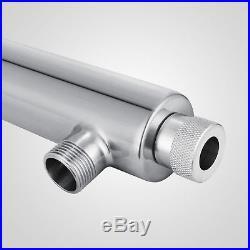 Ultraviolet Light Water Purifier Whole House UV Sterilizer 12 GPM +2 Extra Bulbs
