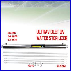 Ultraviolet Light Water Sterilizer Whole House UV Purifier 12 GPM+Many Extras US