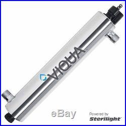 Viqua Sterilight Whole House Water Filter 14-18 GPM UV VH410