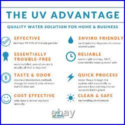 Viqua VH200 Bundle Whole Home UV Water Purification System + Plus Extra Ultravi