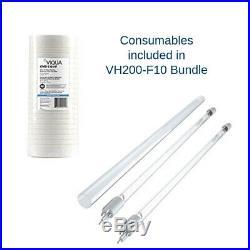 Viqua VH200-F10 Bundle Integrated Whole House UV + PLUS Extra Replacement Lamp