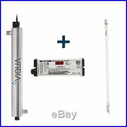 Viqua VP600 UV Bundle 30 GPM Commercial Water Sterilizer + Plus Extra Lamp