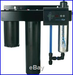 Viqua Whole House Water Filter UV System Absolute H2O Threaded Stainless 3-Stage