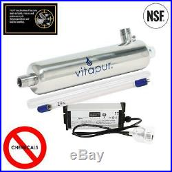 Vitapur Ultraviolet Water Filter Disinfection Purification Whole House 15.8 GPM