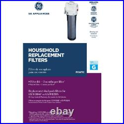 Water Filter Cartridge Universal Fit Whole House 2-Pack Reduce Sediment Build-up