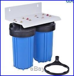 Water Filters for 10 x 4.5 Big Blue Housing (2)10x 4.5 Sediment & KDF85/GAC
