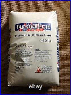 Water Softener Replacement Resin 8% Cross Linked 1.0 Cubic Feet High Quality