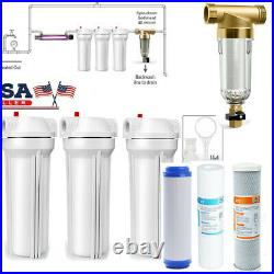 Whole House 10 Water Filtration System /Spin Down Sediment Pre-water Filter DC3