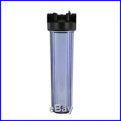 Whole House Big Clear Housing with Sediment Filter Housing wrench 4.5 x 20