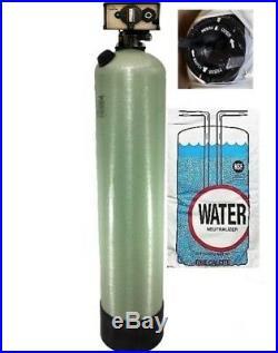 Whole House Calcite-Magnesium Oxide pH Neutralizing Filter Timer Backwash 2CF