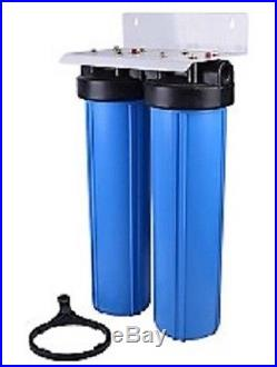 Whole House/Commercial WATER FILTER BIG BLUE withCarbon sediment filter 20X4.5