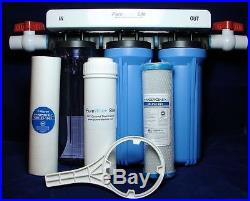 Whole House Complete Custom Well/Iron Water Filtration System Includes Filters