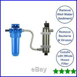 Whole House UV Well Kit For City Or Municipality Austin Spring AS-WELL
