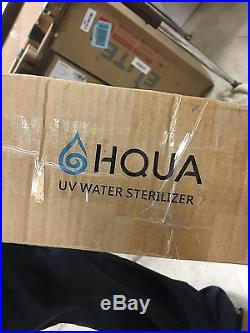 Whole House Ultraviolet Filter UV Water Sterilizer Purifier 12GPM with 2 UV bulbs