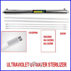 Whole House Ultraviolet Light Water Purification System UV Sterilizer (12 GPM)