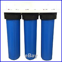 Whole House Water Filter 3 stage Sediment ph acid neutralizer & carbon