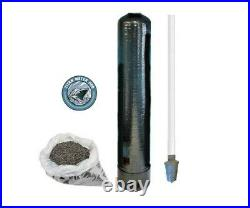 Whole House Water Filter Granular Activated Carbon GAC 1.5 CuFt Dist Assy 1054