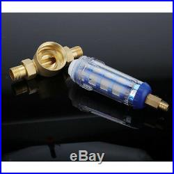 Whole House Water Filter Housing 3/4 Port Pre-filter System for Purifying