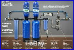 Whole House Water Filter Purifier Salt Free Softener 10 Year 1 Million Gallon