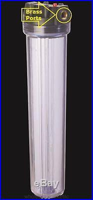 Whole House Water Filter Purifier Sediment & CTO Carbon 3 High Flow 20 Systems