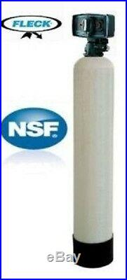 Whole-House Water Filter System Catalytic Carbon 1 CU FT Fleck 5600