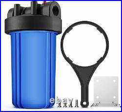 Whole House Water Filtration Kit With 10 Blue Housing and CTO + Sediment Filter