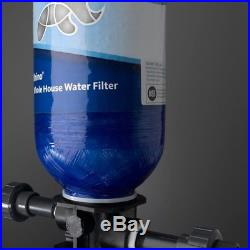 Whole House Water Filtration System Great Tasting Water Faucet Back Flushing