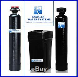 Whole House Water Softener Fleck 64K + Upflow Carbon Filtration System 2 cu ft