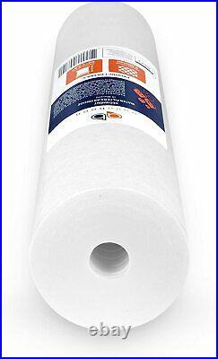 X10 New Aquaboon 20 x 4.5 Big Blue Whole House Sediment Water Filter 5 Micron
